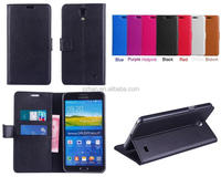 Brand New for Samsung Galaxy Mega 2 LTE G750H G7508Q Lychee PU Leather Wallet case,stand cover with credit card slots