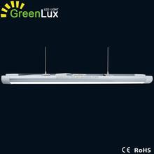 patent design 4ft 5ft led linear batten commercial pendant light 60w 40w