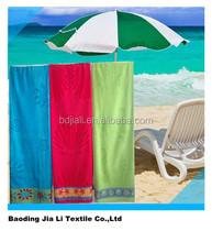 100% cotton wholesale velour towel beach