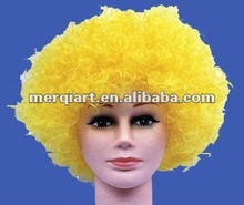 Hot sell afro wig team wig