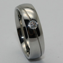 2015 fashion diamond ring 316l stainless steel jewelry