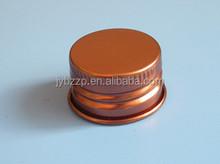 coated aluminum cap for glass bottle,antibiotic,olive oil bottle cap