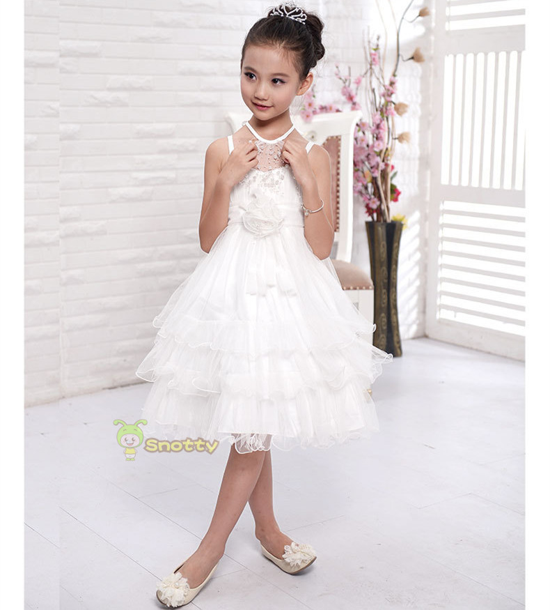 wholesale ball gown wedding dresses lace white fancy girls