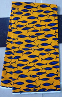 H441 100% cotton 6 YARD african nigeria wax print fabric