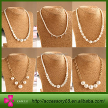 Wholesale long pearl diamond necklace, Madame sweater chain
