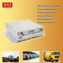 car black box Micro GPS tracker with fuel sensor 2 way communication BSJ-A6
