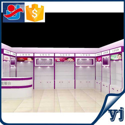 Active cosmetic shop design/cosmetic counter design/makeup store layout design