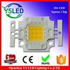 9-12v epistar chip 10w warm white led high power led