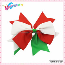 Hair Accessories Supplies Girls Large Red White Green Party Hair Bow