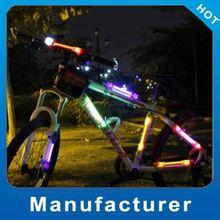 Super Bright 2012 solar led rear light for bike