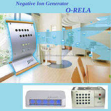 High quality negative ion generator helps clear off viruses on your cloths