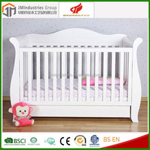 EN/ASTM/AS NZS standard wooden baby cot