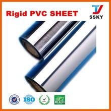 Super clear rigid pvc film plastic rigid transparent pvc sheet