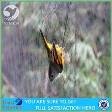 100% Nylon knotted bird net anti bird protection net /bird cages net