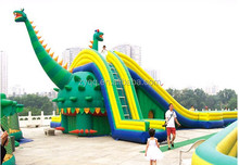 2015 inflatable water slide for water play area