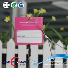 High Quality PVC Hanger Card, Luggage Tag, Pendant with String, China Manufacturer