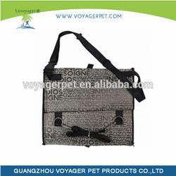 Lovoyager pet travel bag innovator foldable car seat dog carrier