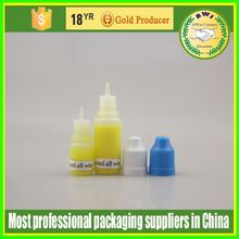 10ml eliquid dropper bottle gold childproof cap any cap color available