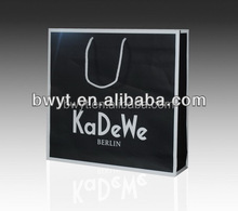 Hot-Selling Paper Shopping Bag, paper laminated promotional shopping bag