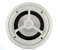 High Quality Audio PA System 8 Inch 2 Way White Grille Ceiling Speaker for Office and Shop Use