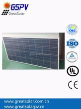 Top quality and best price Poly 130W solar panel 12v battery charger with best price