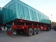 suitable price 40tons/3 axles luggage trailer for sale