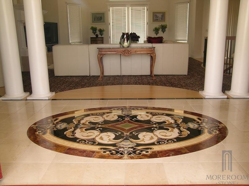 beige marble turkey waterjet pattern tiles stone waterjet medallion multicolor marble floor. Black Bedroom Furniture Sets. Home Design Ideas