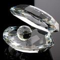 Presente da lembrança de cristal conchas do mar MH-D0319