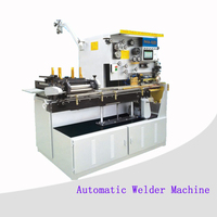Tin/metal welding machine for cans