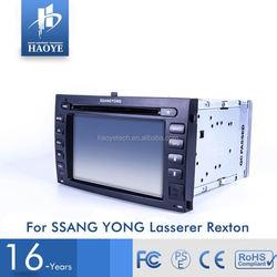 Cheap Price Small Order Accept Car Radio Gps For Ssangyong Rexton