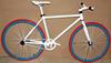 26 Inch fixie bike frame Indoor Racing Bike Road Bike