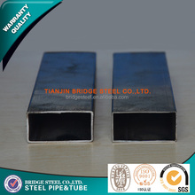 Rectangular hollow section erw low carbon iron tubing made in Tianjin