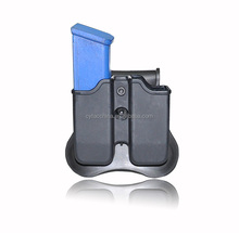 Small Belt Pouches Silicone Paddle Double Pockets