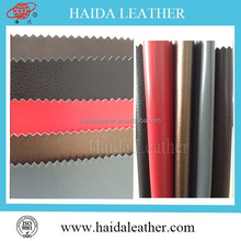 Factory directly selling artificial leather for car upholstery,pu artificial leather