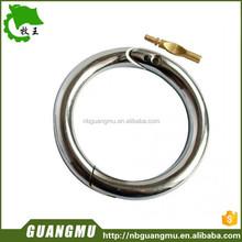 bull-nose-ring,nickel-plated inside diam. 52-54 mm