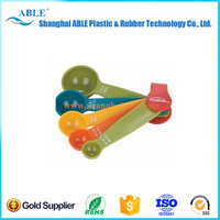 Colorful plastic measuring spoon