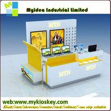 retailers general merchandise Phone accessories kiosk,mobile phone lcd display