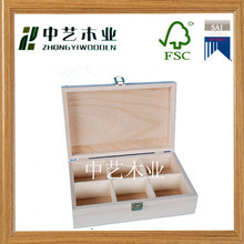 promotional customized unique handmade natural unfinished wholesale antique carved wooden tea box ,wooden tea bags box