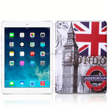 Cheap flower for ipad air 5 smart cover hard case factory in china