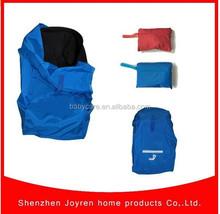 FROM kitty-Large Capacity Black Travel Bag,Dual Stroller Travel Bag