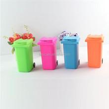 Cute Mini trashcan shape pensile vase