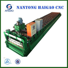 HGYX18-175-1050B Single Layer CNC Color Steel roll forming machine /sheet tile roofing