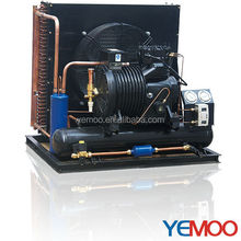 YEMOO 5 hp copeland air cooled condensing unit for cold storage with Bitzer Copeland type compressor