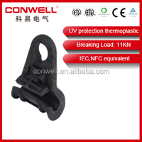 UV protection 1.1A suspension clamp underground electrical cable connectors
