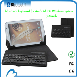 7 inch Universal Tablet PC keyboard with leather case