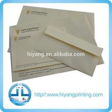 Sobre de papel impreso de varias tallas hecho en China