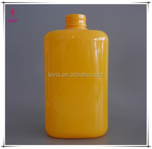 500ml plastic shampoo bottle packaging