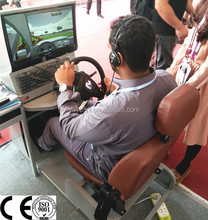 Education equipment pedal car for adult train driving simulator