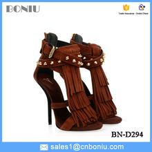 2015 new big brance high heel platform lace-up women shoes dance shoes