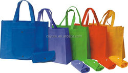 Promotional non woven foldable shopping bag for grocery
